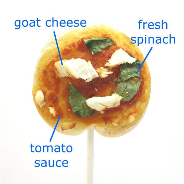 HowTo: Pizza Lollipops. Yes, Please!