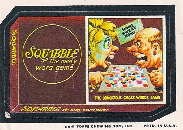 Squabble: The Nasty Word Game