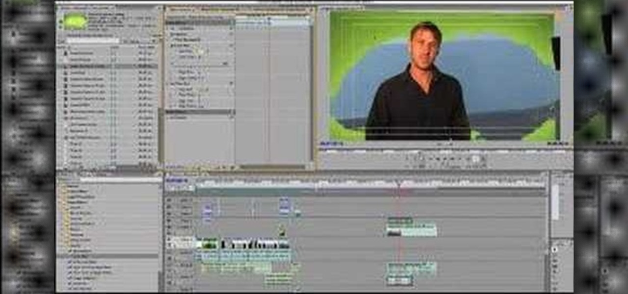 How to Use the green screen effect with your editing software