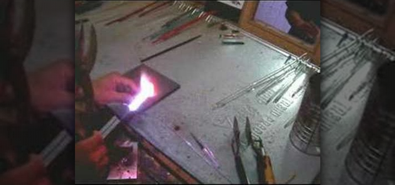 Glass crafts how to help for glassblowing glass art and for How to cut glass with fire