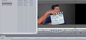 Sync multicam footage in Final Cut Pro 7