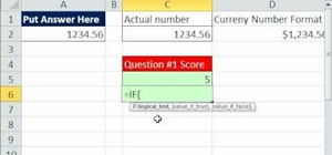 Grade test responses with formulas in Microsoft Excel