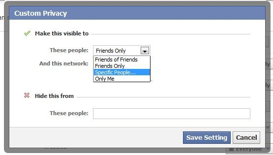 The Basics of Facebook Privacy Settings