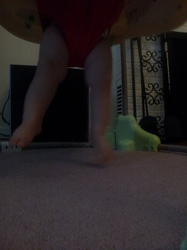 Action Shot Challenge: Baby Jumping!