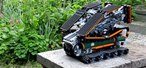 Wicked LEGO War Vehicle Crosses Chasms With Built-In Bridge