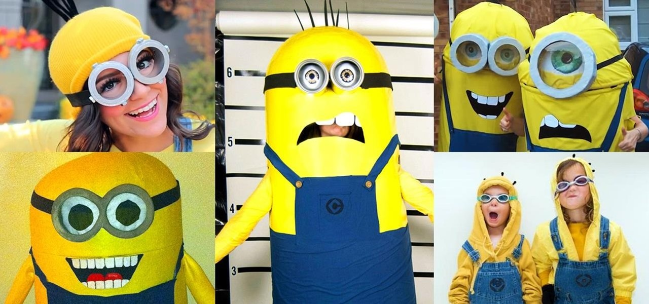 5 Awesome DIY Minion Halloween Costumes from u0027  sc 1 st  Halloween Ideas - WonderHowTo & Bee-Do Bee-Do! 5 Awesome DIY Minion Halloween Costumes from ...