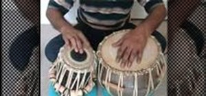 Play tabla drum basic techniques