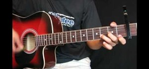 """Play """"You're Not Sorry"""" by Taylor Swift on guitar"""