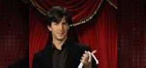 Perform the even/uneven ropes magic trick