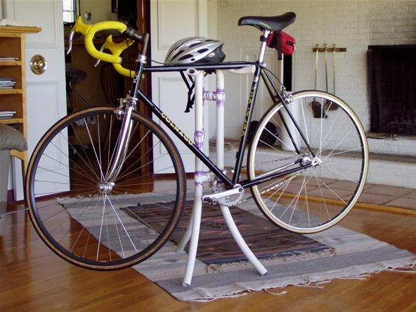 PVC Pipe Bike Rack Innovation
