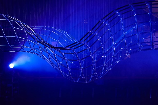 Math Craft Inspiration of the Week: The Kinetic Wave Sculptures of Reuben Margolin