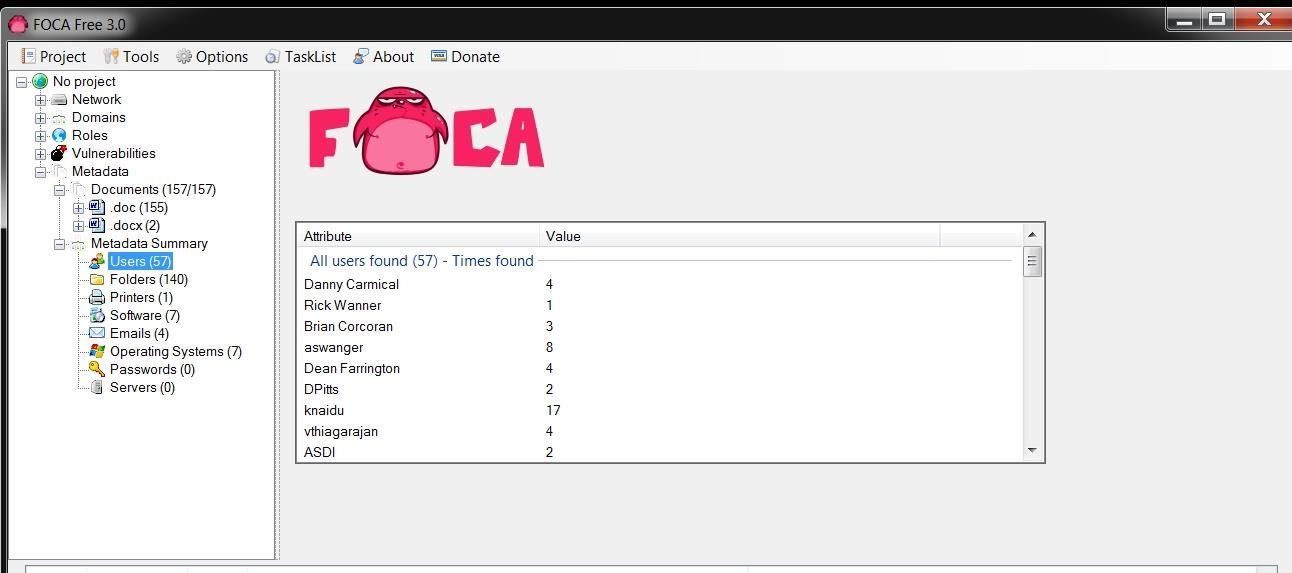 Hack Like a Pro: How to Extract Metadata from Websites Using FOCA for Windows