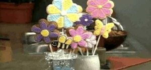 Make & decorate cookie pops
