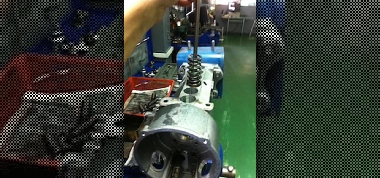Dismantle a Bosch Diesel Pump