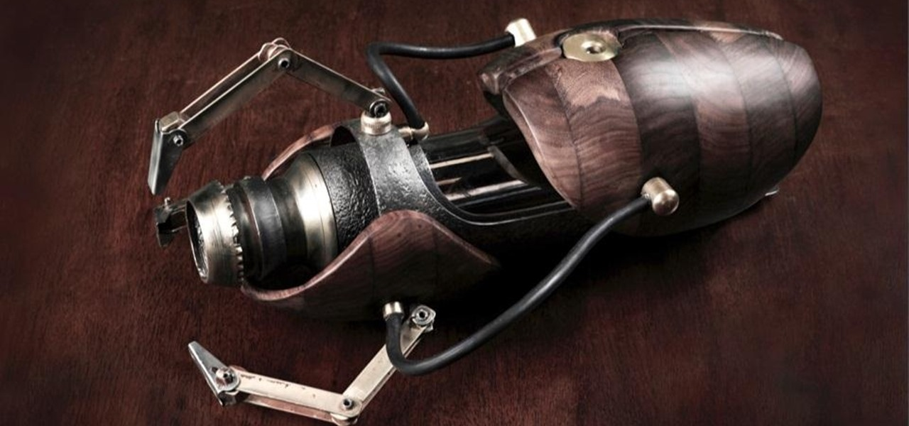 Awesome Steampunk Portal Gun