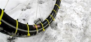 Snow-Proof Your Bike Tires For Dirt Cheap
