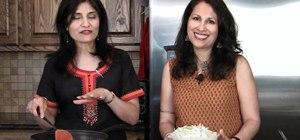 Make Rajasthani vegetarian dish kande ki sabzi (onion sabzi)