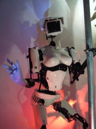 PAARRRTY! Robo-Drummers and Pole Dancing Stripper Bots