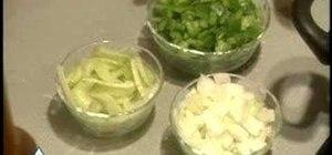Boil a fish chowder