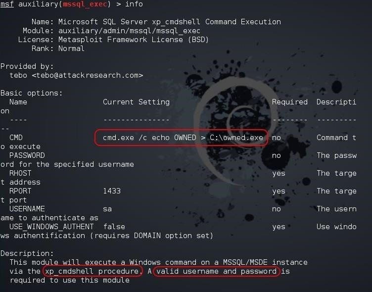 How to Hack Databases: Running CMD Commands from an Online