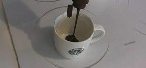 Make a Starbucks style mocha