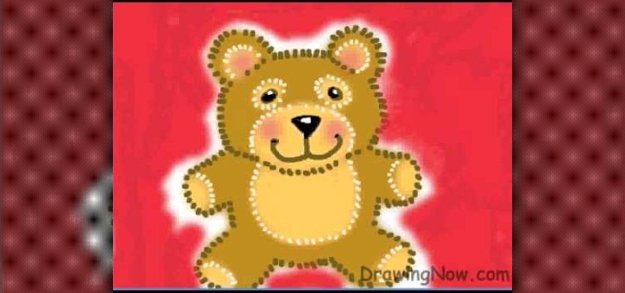 Sitting Bear Drawing How to Draw a Teddy Bear