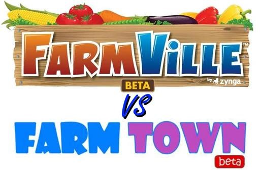 Farmville vs. Farm Town