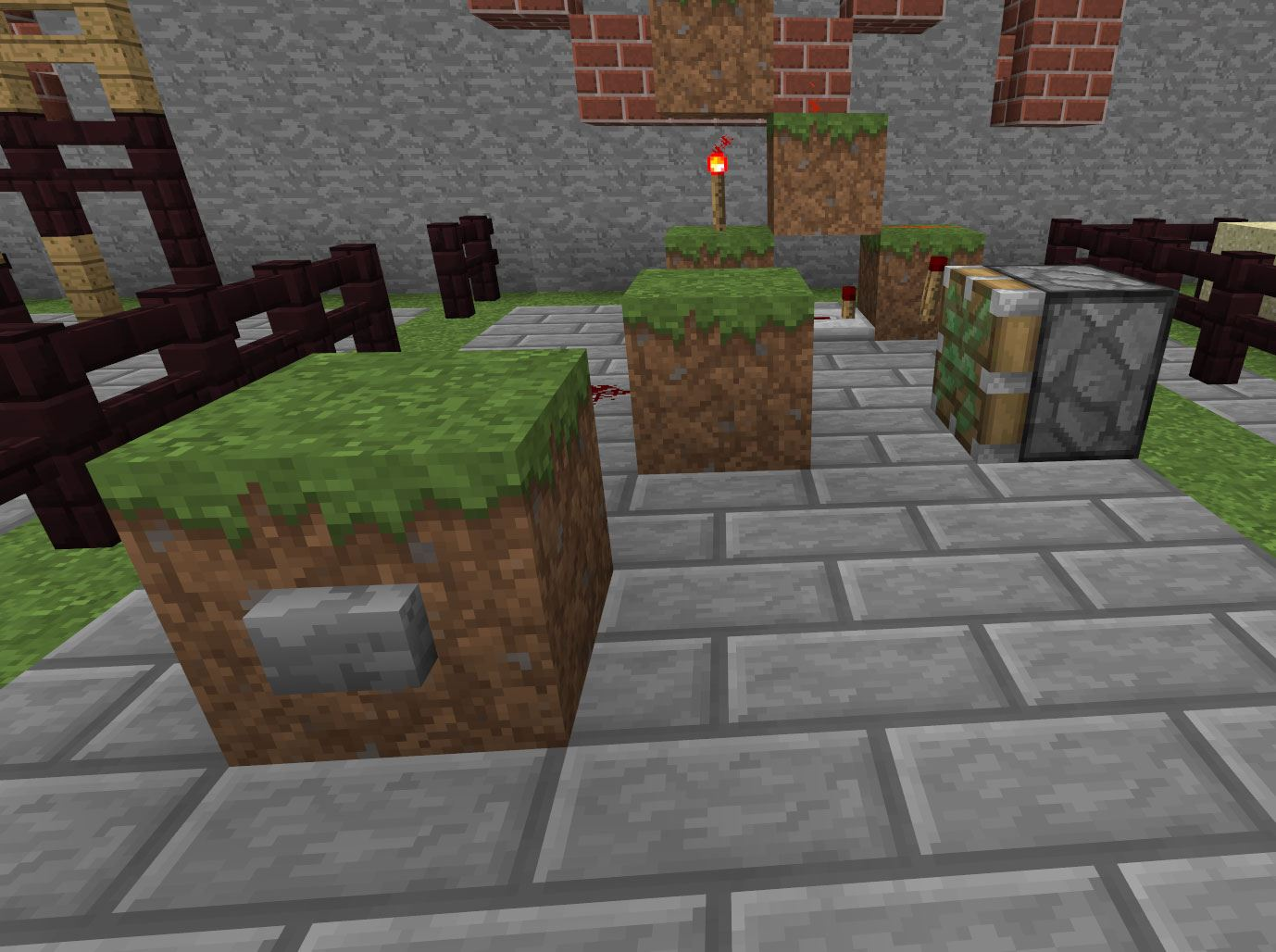 Wonderful image of 20 Tricks You Didn't Know You Could Do in Minecraft « Minecraft with #AF281C color and 1378x1028 pixels