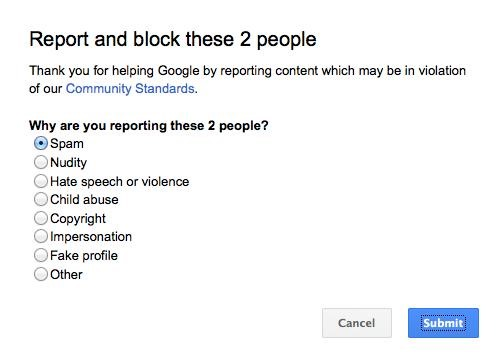 Google+ Makes Blocking People Even Easier