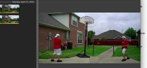 Clone yourself using iMovie '09