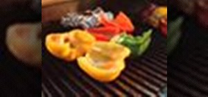 Make grilled bell peppers