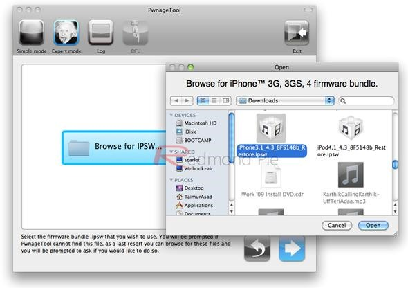 How to Jailbreak an iOS 4 3 iPhone 4, iPad or iPod Touch with