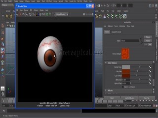 Eye Texture in Maya | Maya Texturing | Maya Shader | Texturing In Autodesk Maya | Maya Video Tutorial | Stereopixol