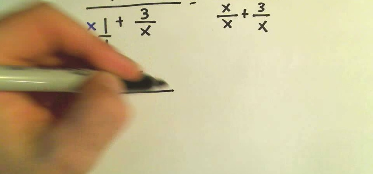 How to Simplify complex fractions in algebra « Math :: WonderHowTo