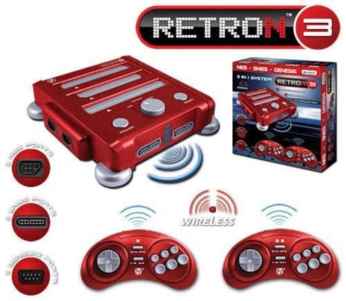 Play old SEGA/NES games on the new RetroN 3 Console