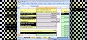 Calculate plate cost for a print shop in MS Excel