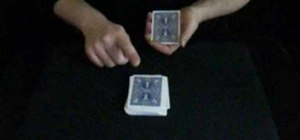 Perform a beginner's card trick