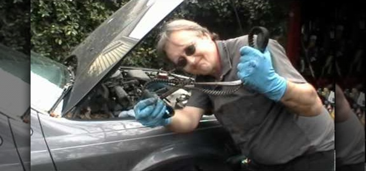 How To Change The Timing Belt On An Engine 171 Auto