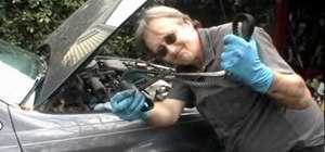 Change the timing belt on an engine