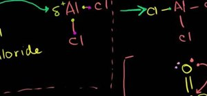 Work with Friedel-Crafts acylation in organic chemistry