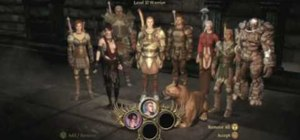 Accomplish the quest in the Dragon Age: Origins DLC Soldiers Peak