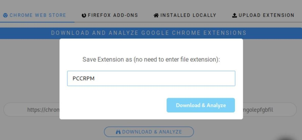 How to Analyze Web Browser Extensions for Possible Malware & Other Malicious Activity