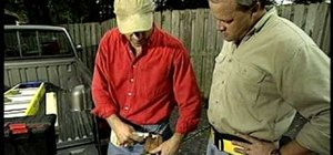 Wear a tool belt to provide easy tool access
