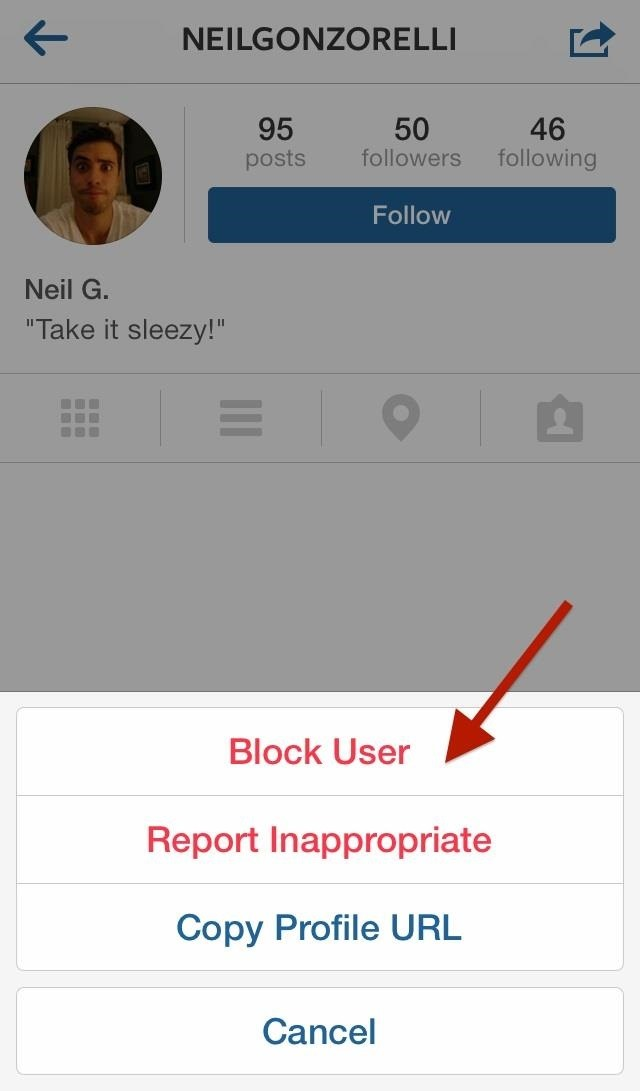 how to block instagram users from sending you direct photo