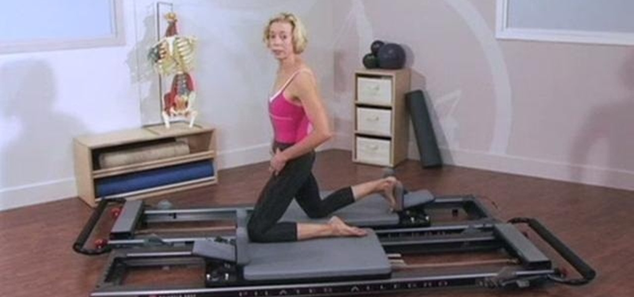 How to Balance hip flexors/extensors with a Pilates Reformer