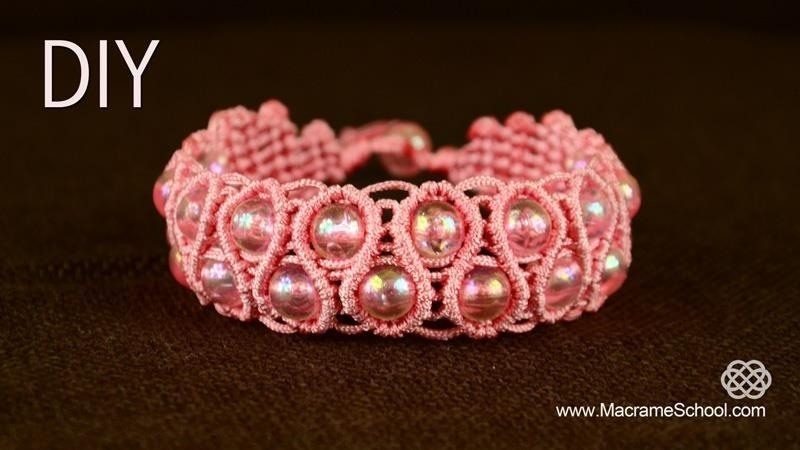 Snaky Macrame Bracelet Tutorial
