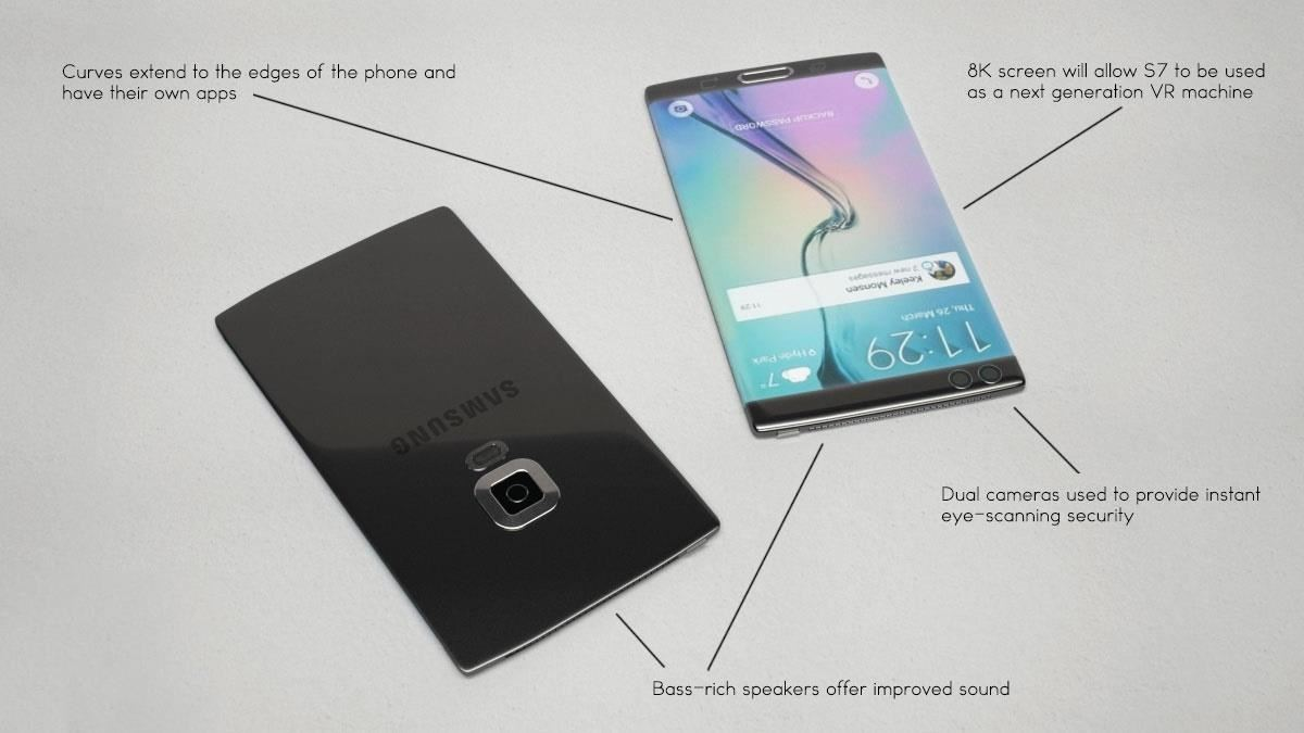 Samsung Galaxy S7 Likely to Have iPhone-Like Pressure-Sensitive Screen