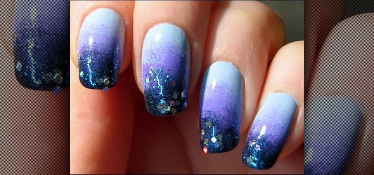 How to Create a starry blue sky nail look « Nails & Manicure ...