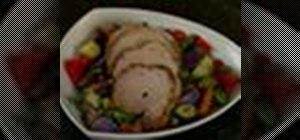 Make rosemary sage pork roast with Cuisinart