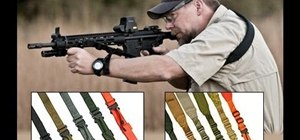 Use the Viking Tactical 2-Point Sling for rifles